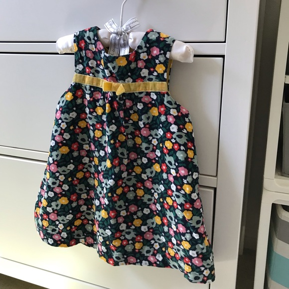 Baby & Toddler Clothing Baby Boden 0-3 Months Floral Dress Dresses Needlecord.